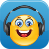 Smiley with Headphones